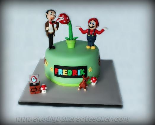 Mr.Bean&SuperMarioCake2